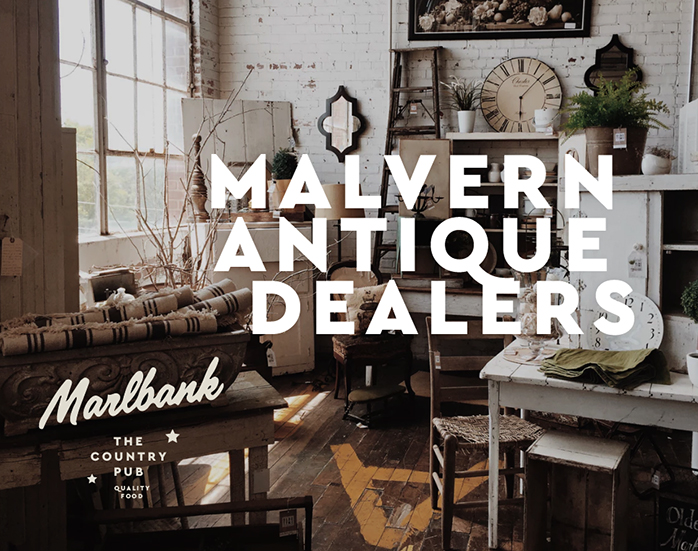Top Antique and Independent shops in Malvern, Upton, Worcester