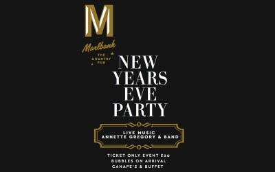 New Years Eve Party | Malvern Hills Pub | Live Jazz Band!