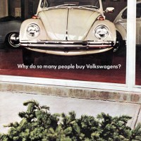 1968 VW Beetle.