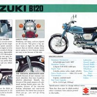 1975 Suzuki B120M.