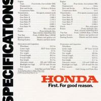Honda CB 550F / 400F.