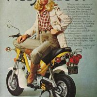 BEST OF THE MARQUIS: vintage bike ads babes.