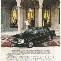 Volvo Bertone Coupé.