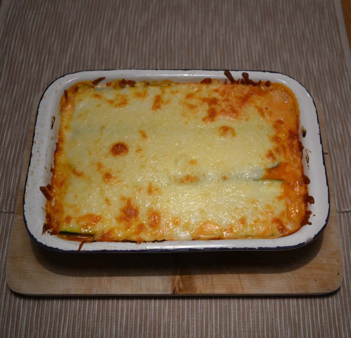 Low Carb Dinner|Zucchini-Lasagne