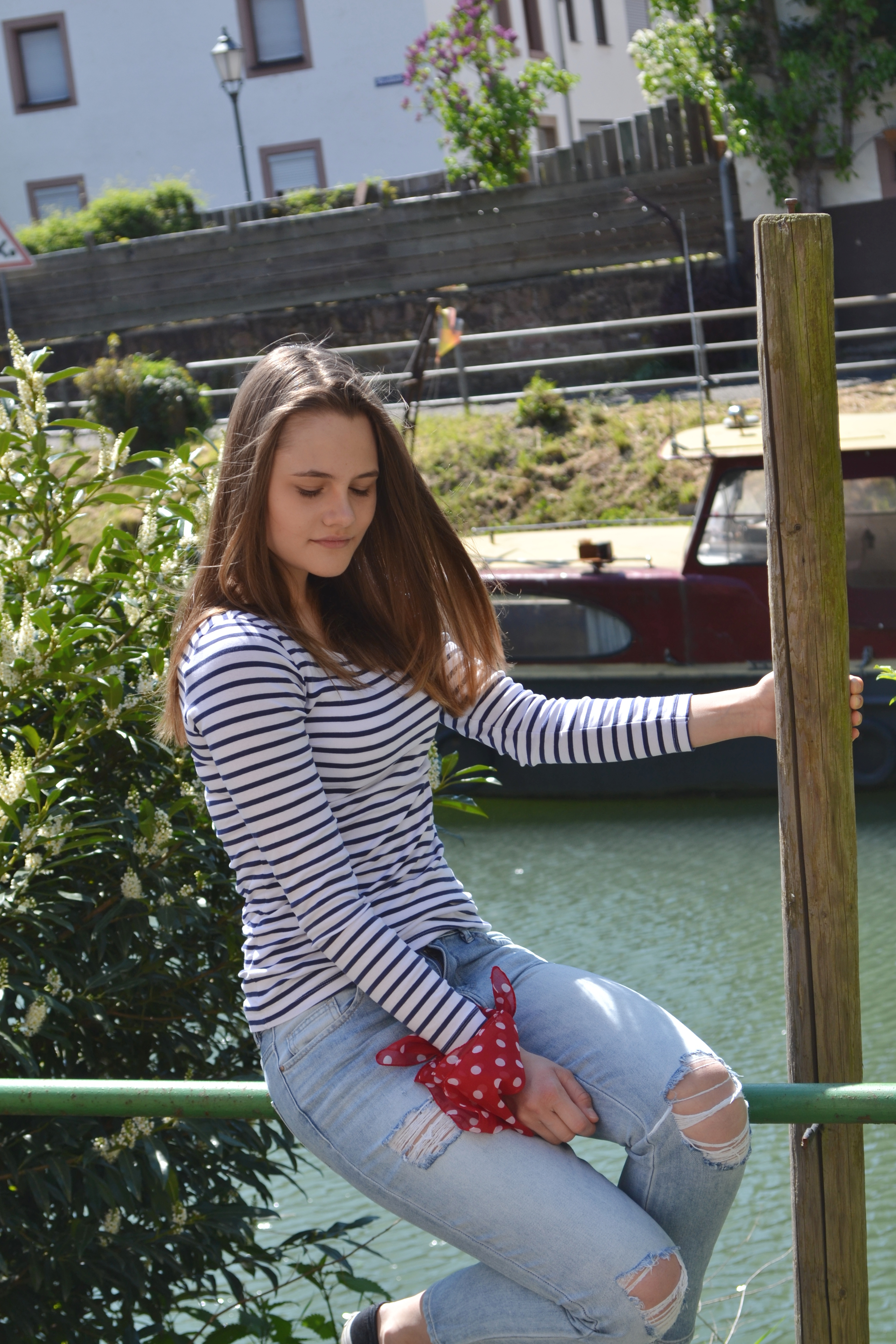 Maritime Look | Stripes and Dots