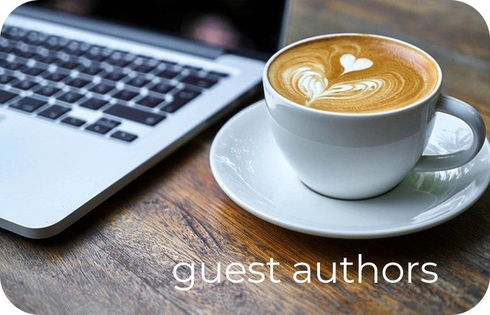 computer keyboard for guest author