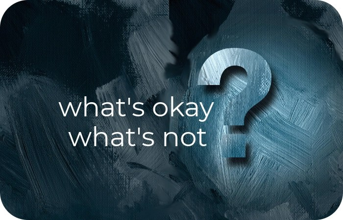 what's okay, what's not by Paul & Lori