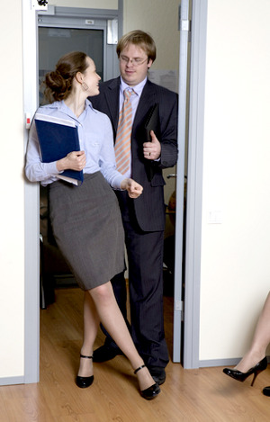office flirting © Elena Rostunova | dreamstime.com