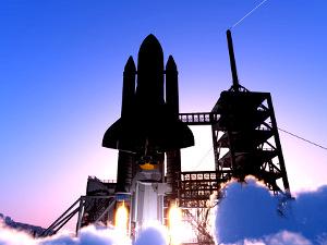 rocket lifting off © 1971yes | Dreamstime.com