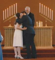 Paul and Lori's wedding © Paul H. Byerly