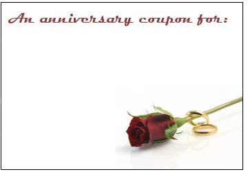 anniversary-coupon © Evangelos Thomaidis | Dreamstime.com