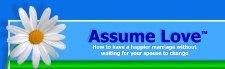 Assume love logo