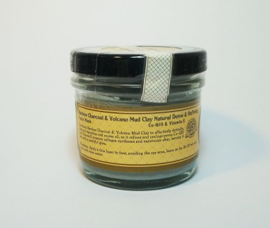 Beauty Cottage Bamboo Charcoal & Volcano Mud Clay Natural Dtox & Refining Facial Mask with Co-Q10 & Vitamin E
