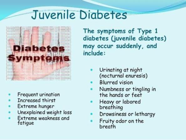 Type 1 Diabetes Symptoms In Children