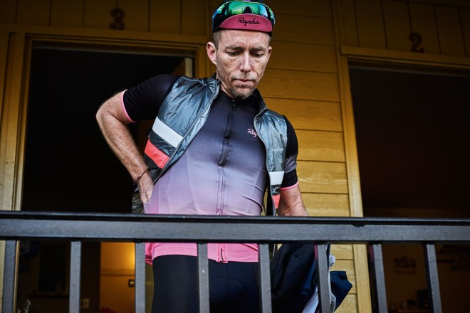 Rapha SS16 Super Lightweight Jersey and Insulated Brevet Gilet