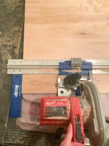 A Kreg Jig Rip-Cut tool