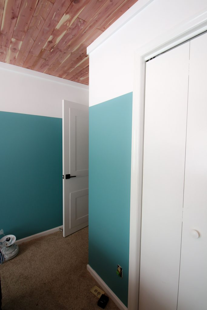 DIY Color Block Accent Wall
