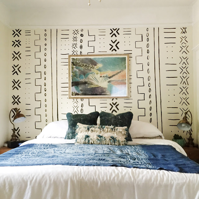 Tribal Accent Wall