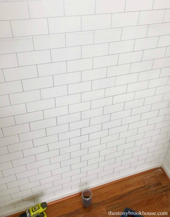Handpainted DIY Subway Tile