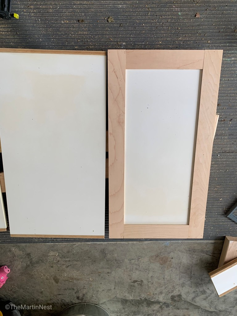Laminate Cabinets with shaker trim