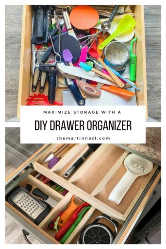 Two tiered Drawer Organizer