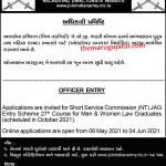 ARMY JAG Entry Scheme 27th SSC Course
