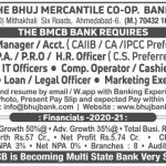 The Bhuj Mercantile Co-op Bank Limited Recruitment For Com. Operator, P.A & Other Posts 2021