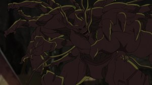 A Cosmic Seed affected Groot goes on a rampage.