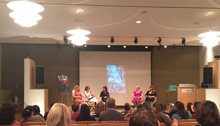 A view from the crowd at the Women Of Marvel event. Source: Clement Bryant