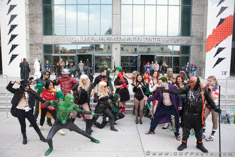 Heroes & Villains Fan Fest cosplay