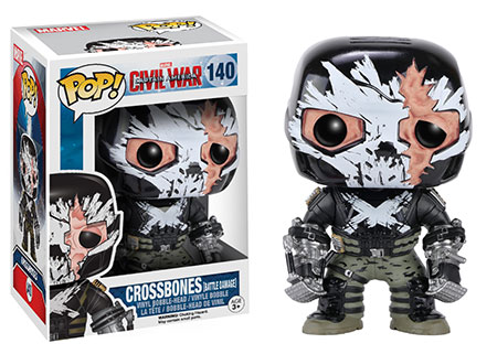 Funko Pop Civil War Crossbones