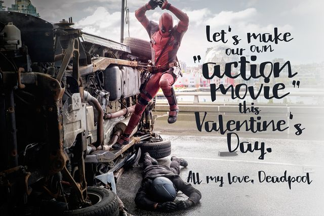 Deadpool Valentines cards from studio@gawker