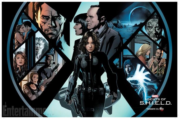 Agents of SHIELD poster Wondercon