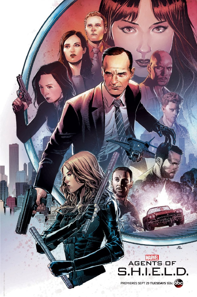 Agents of SHIELD poster SDCC