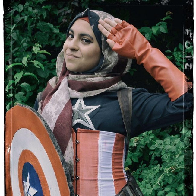 Hijabi Hooligan Cosplay