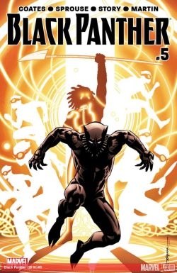 Black Panther #5 Cover