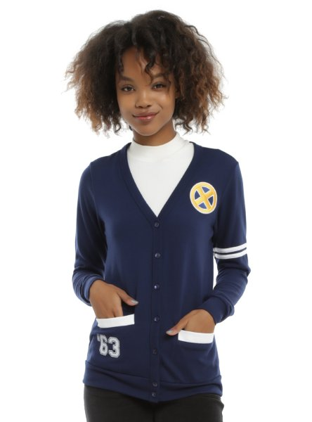 This cardigan will let that Xceptional person in your life show off their X-men fandom in a classy way.