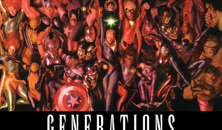 Marvel Comics Tease Generations Event for Summer 2017