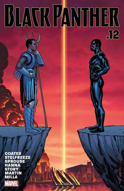 Black Panther #12 Review Cover