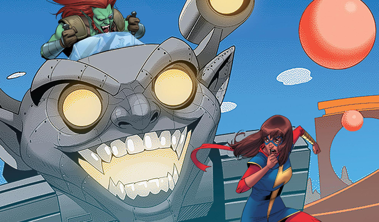 Ms. Marvel #16 Review Cover Feature