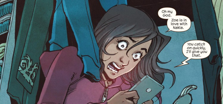 Ms. Marvel #16 Review Zoe in love