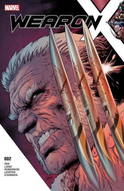 Weapon X #2 Cover