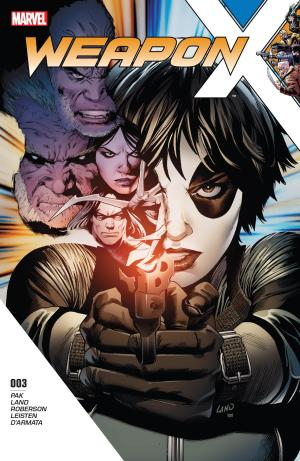 Weapon X #3 Review Cover