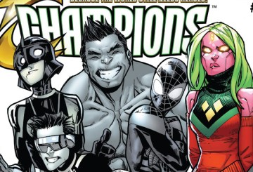 Champions #9 Review Cover Feature