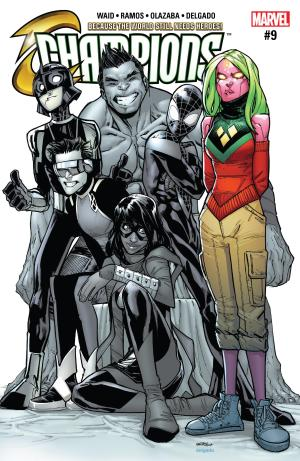 Champions #9 Review Cover
