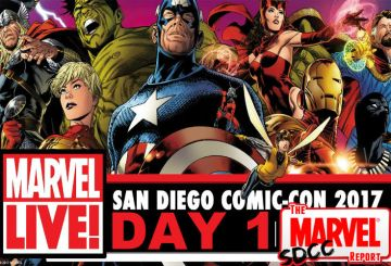 SDCC 2017 Marvel Day 1