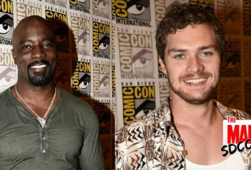 Finn Jones Mike Colter Defenders SDCC 2017