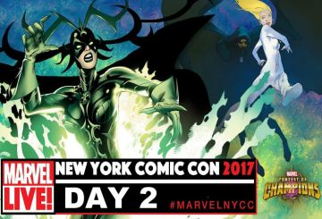 NYCC 2017 Marvel LIVE Day 2