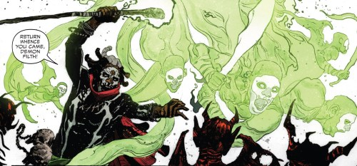 Falcon #3 Review Brother Voodoo