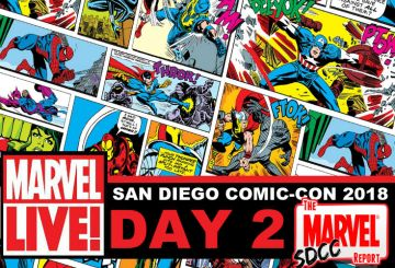 Marvel LIVE SDCC 2018 Day 2